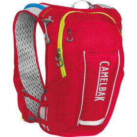 CamelBak Ultra 10 Gilet di idratazione, crimson red/lime punch